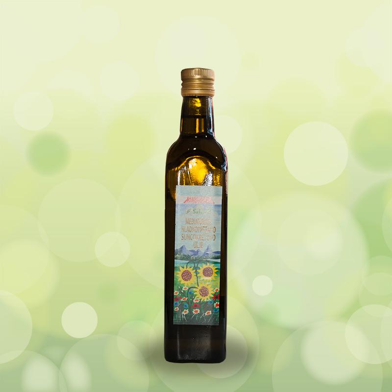 Međimursko hladnoprešano suncokretovo ulje - 0,5L
