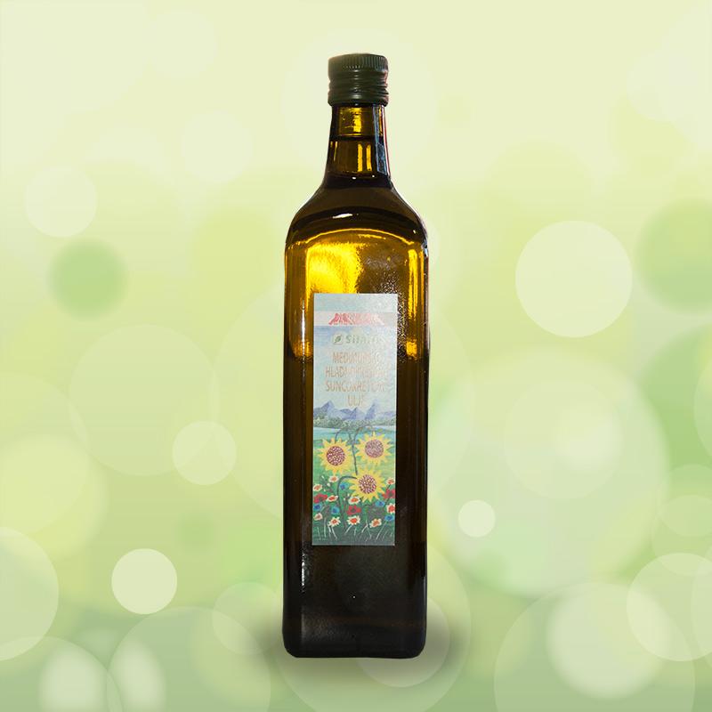 Međimursko hladnoprešano suncokretovo ulje - 1L