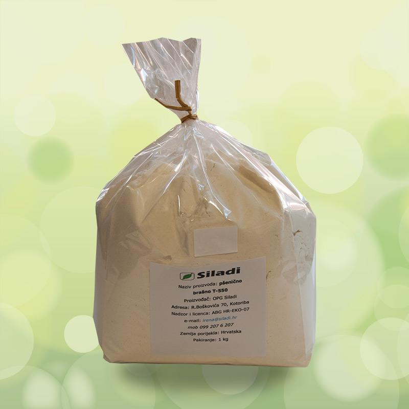 Pšenično brašno T-550 - 1kg