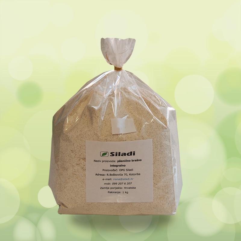 Pšenično integralno brašno - 1kg